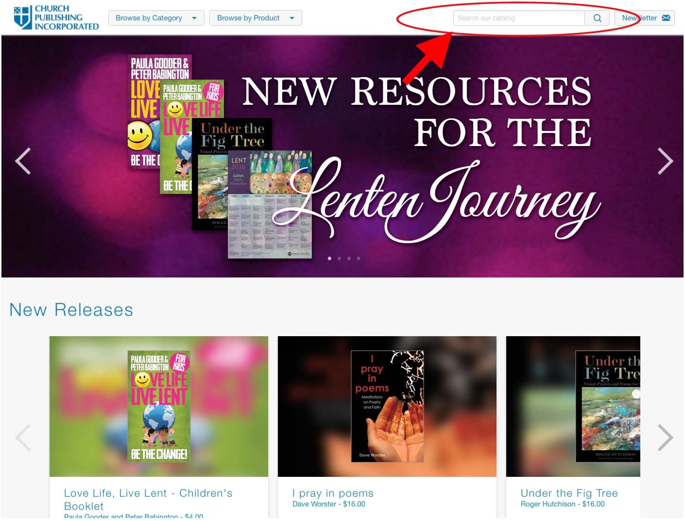 ChurchPublishing org: Welcome to Our New Website