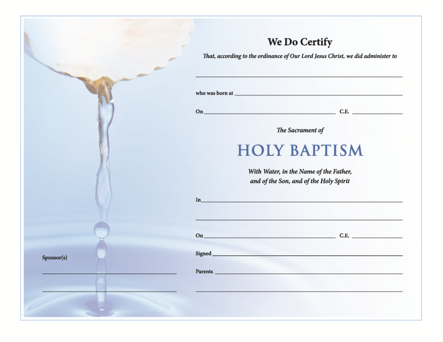 churchpublishing org holy baptism certificate download