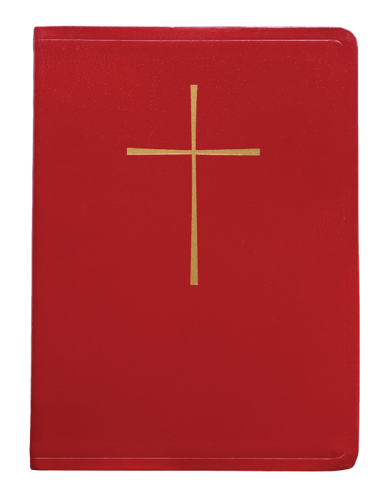 Churchpublishing Book Of Common Prayer Deluxe Chancel Red