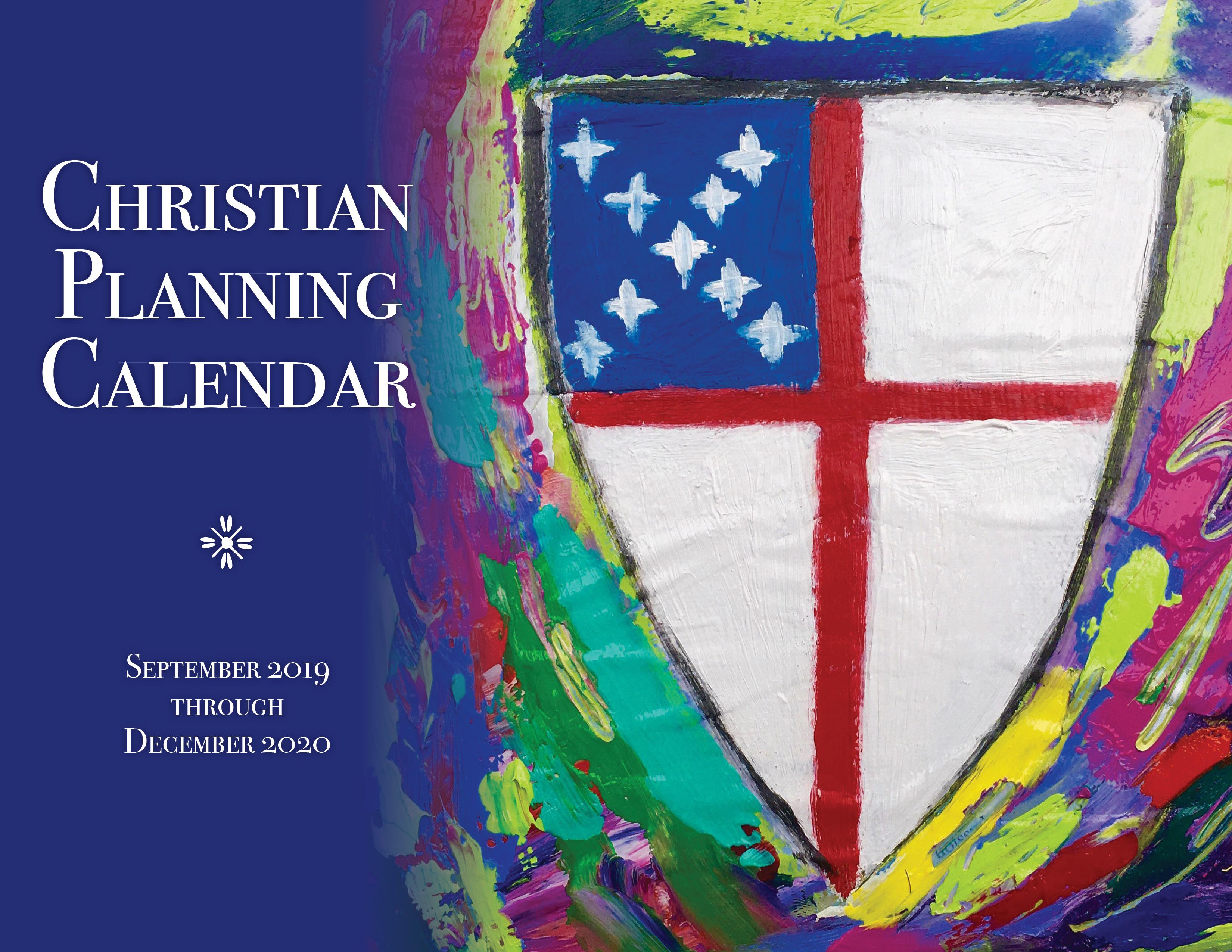 ChurchPublishing org: Christian Planning Calendar 2019-2020