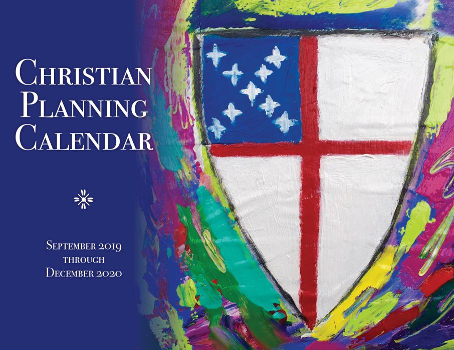 Christian December Calendar 2019 ChurchPublishing.org: Christian Planning Calendar 2019 2020
