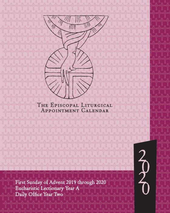 Episcopal Liturgical Calendar 2020 ChurchPublishing.org: Episcopal Liturgical Appointment Calendar 2020