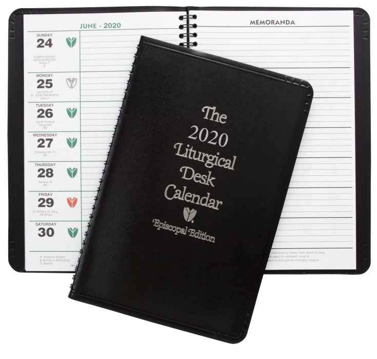 2020 Liturgical Desk Calendar ChurchPublishing.org: Episcopal Liturgical Desk Calendar 2020